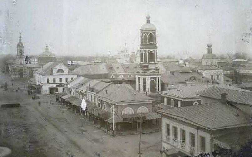Рождественская площадь, 1890 г.