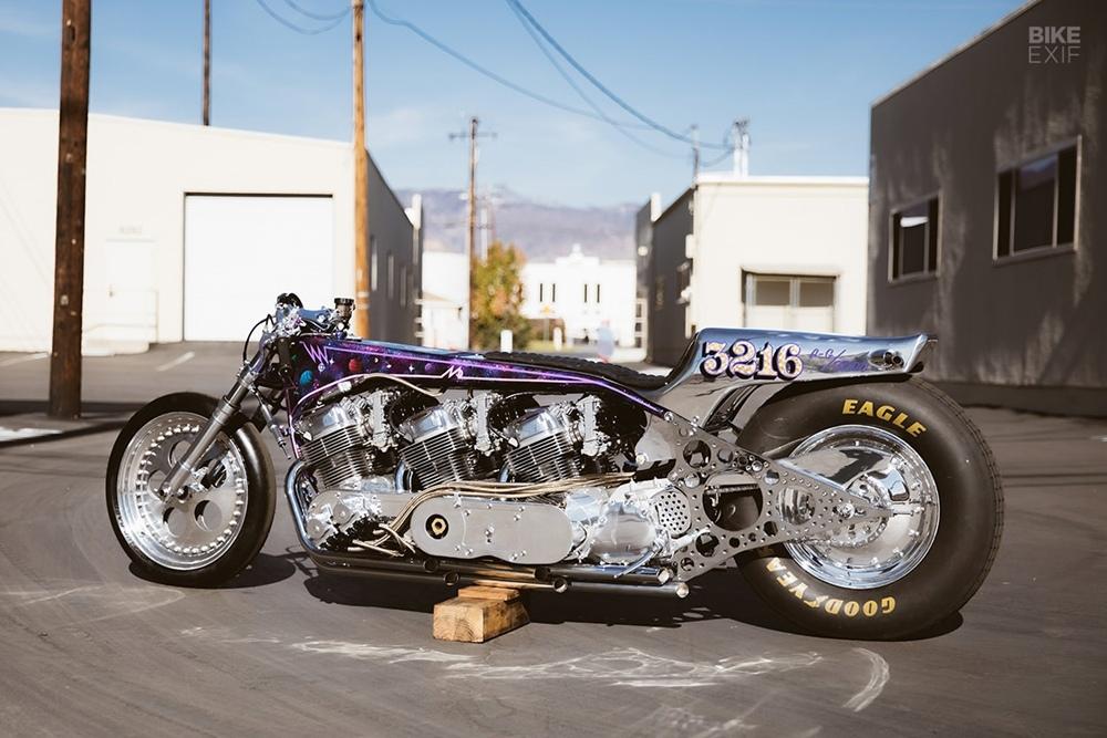 Kiyo's Garage: Galaxy - трехдвигательный мотоцикл для рекордов скорости