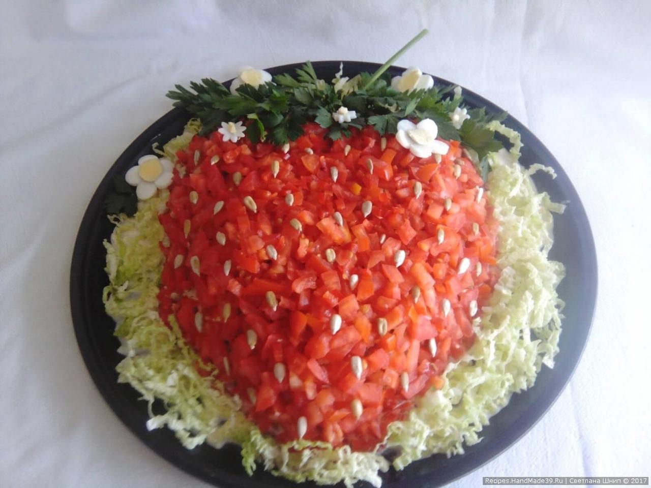 4 красивых салата)