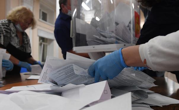 В Петербурге запущен процесс массовой фальсификации выборов после выборов
