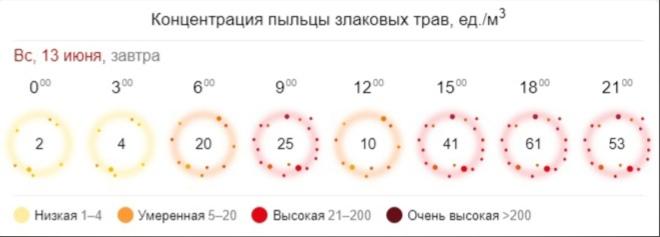 Предупреждение! В Ярославле прогнозируют повышение количества пыльцы