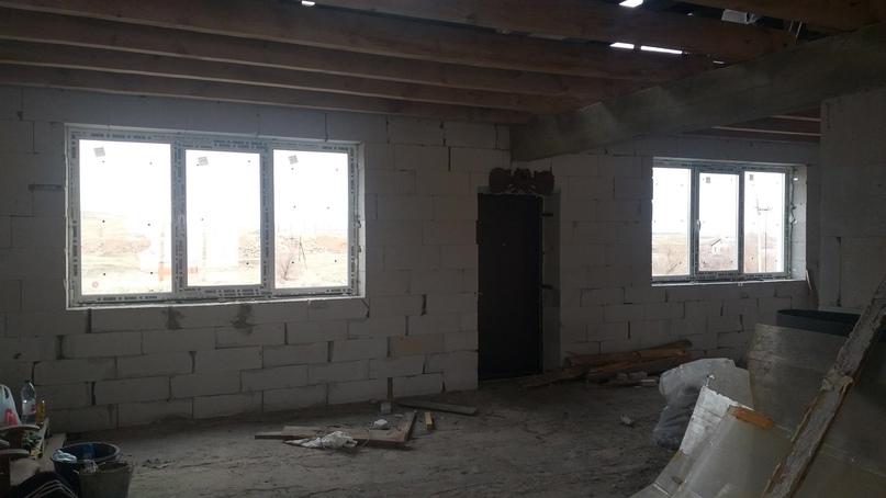 Дом из газоблока d500, толщина стен 400мм, | Объявления Орска и Новотроицка №28854