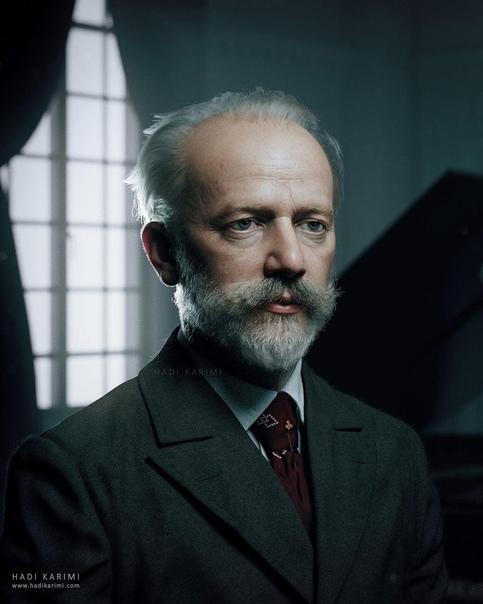3D портрет композитора Петра Ильича Чайковского со...
