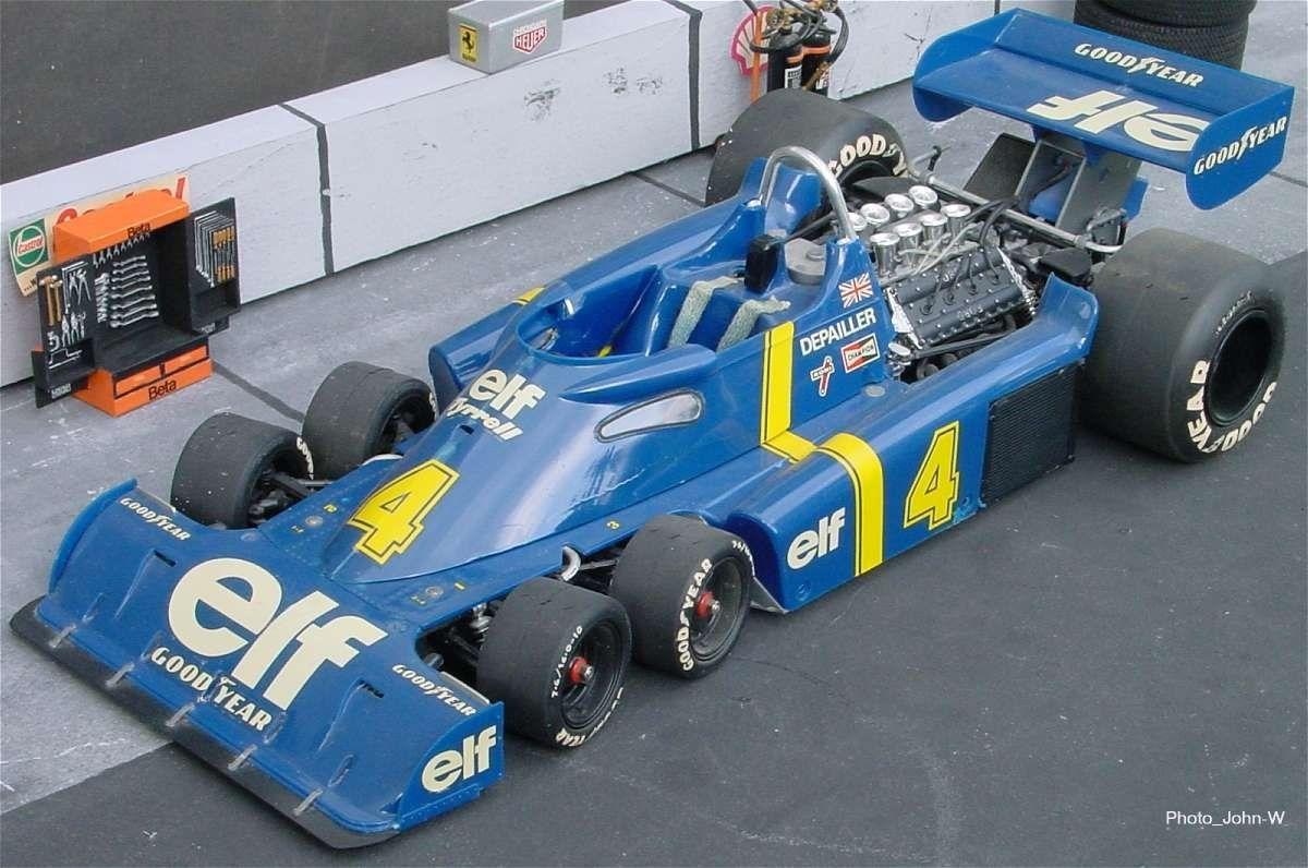 Болид Tyrrell P34 образца 1976 года
