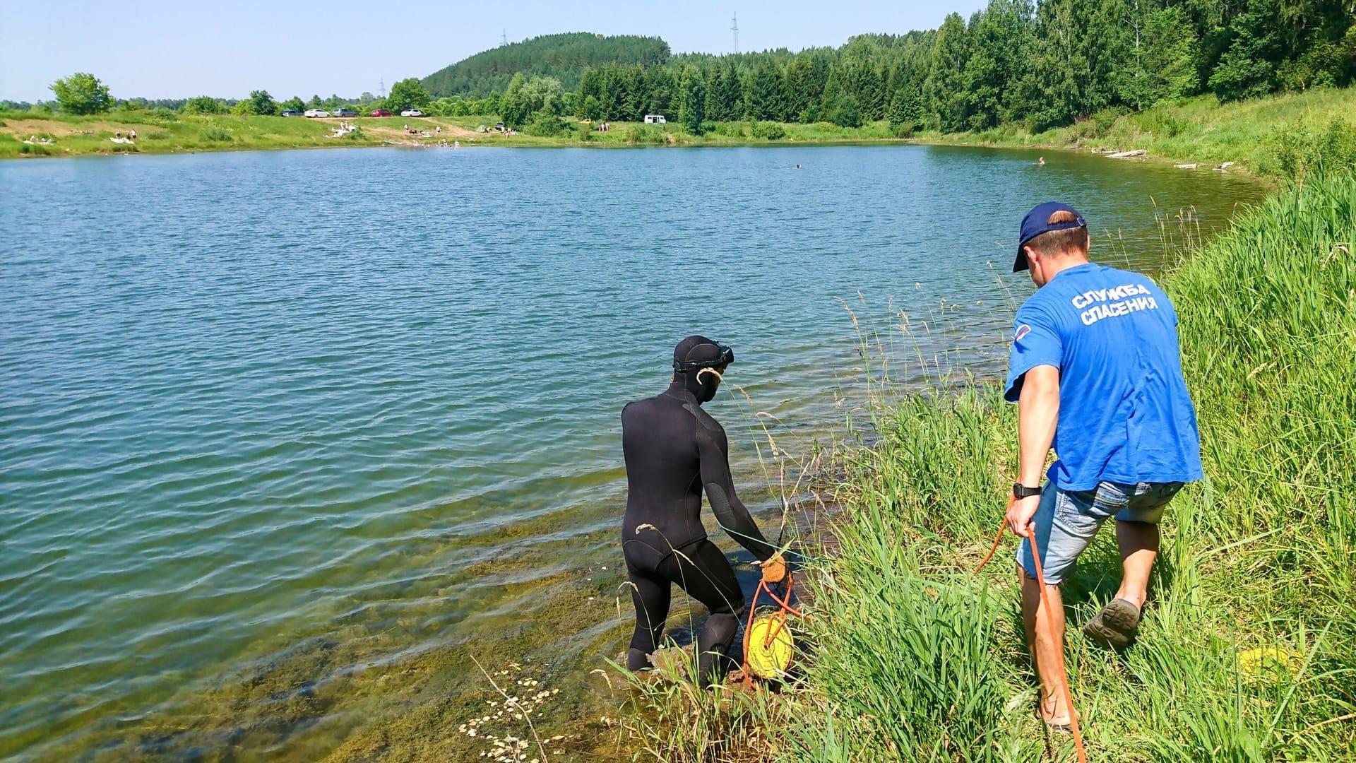 На Юрукском пруду продолжаются поиски утонувшего вчера
