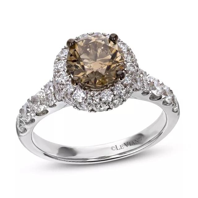 pMMzu QtFkA - Шоколадные бриллианты в обручальных кольцах - звучит мечтательно