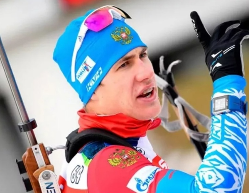 Российский биатлонистЭдуард Латыповоценил выступление на четвертом этапе эстаф...