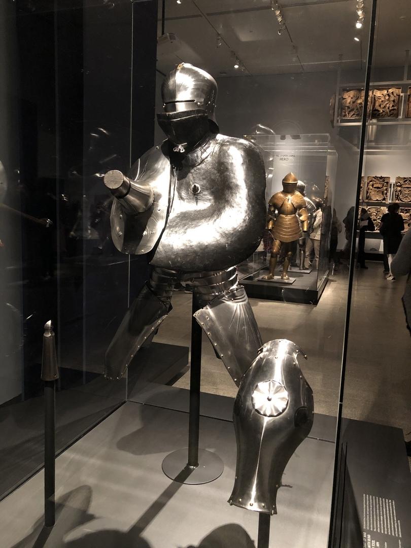 Доспехи Максимилиана для рыцарских турниров