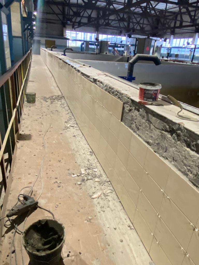 Ремонт на Водоочистной станции 2 подъема г. Апатиты