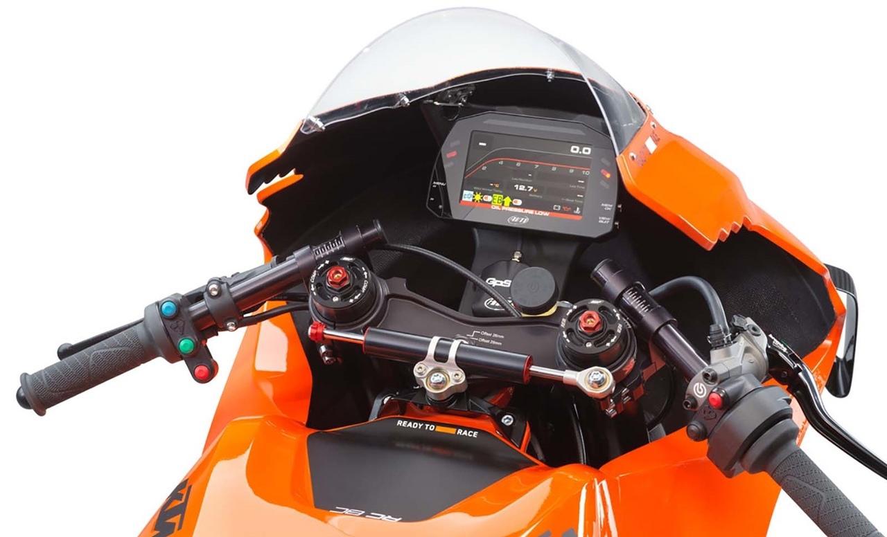 Спортбайк KTM RC 8C