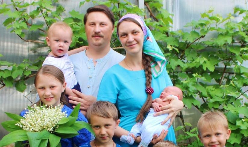 Семья Алпатовых из села Оркино - победитель Всероссийского конкурса «Семья года»