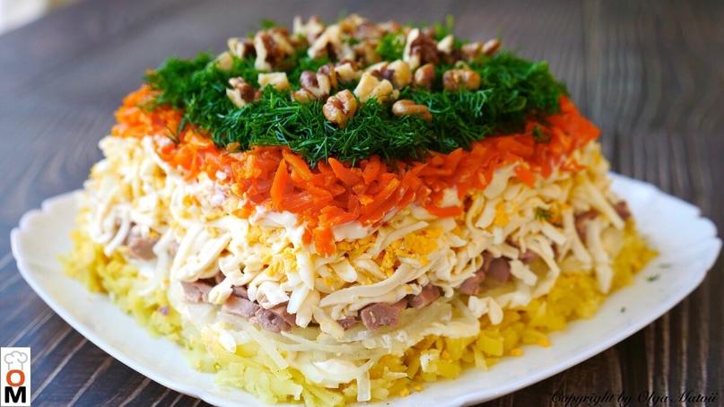 4 замечательных салата с печенью трески)