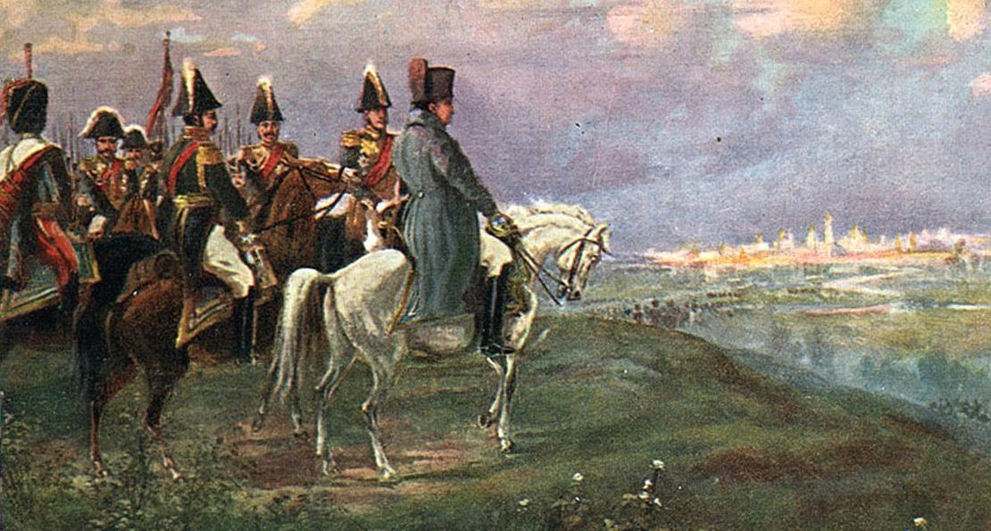 Наполеон в 1812 году