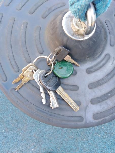 Нашли ключи, обрщ по телефону 89270064037...