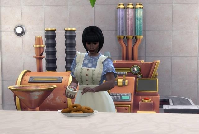 Как заработать на выпечке в Симс 4
