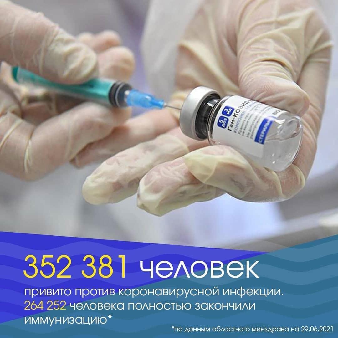 Министр здравоохранения области Олег Костин попросит федеральный минздрав об увеличении лимита поставок в регион вакцин от COVID-19