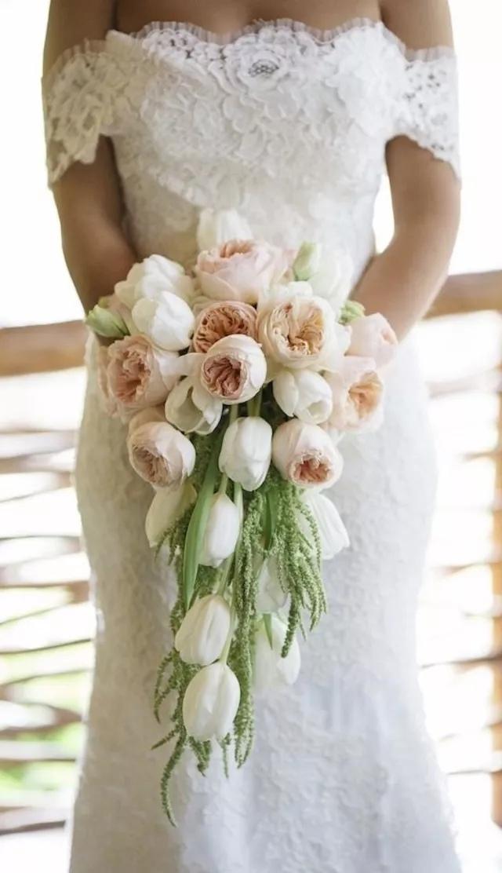 nQ0dK8y BEE - Букет невесты из тюльпанов
