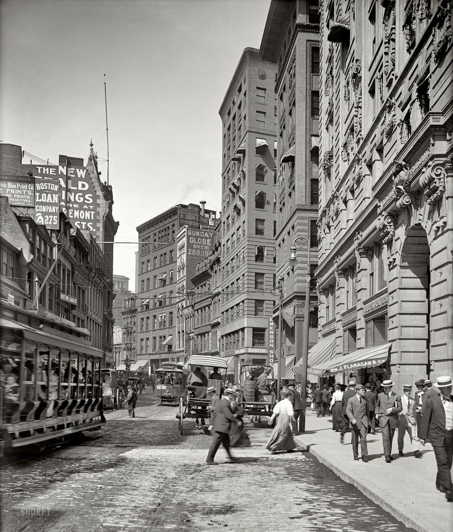 HD-фотографии городов США сделанные в 1900-1915 годах, изображение №16
