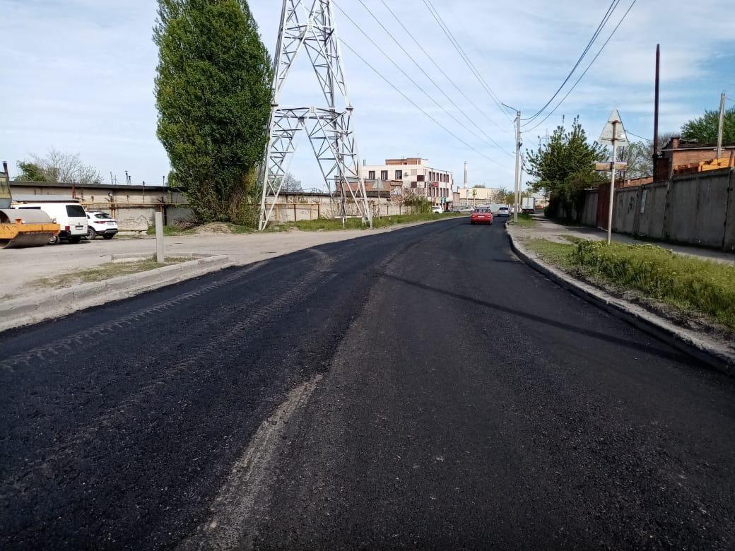 В Таганроге благодаря нацпроекту «Безопасные качественные дороги» обновили еще три дороги