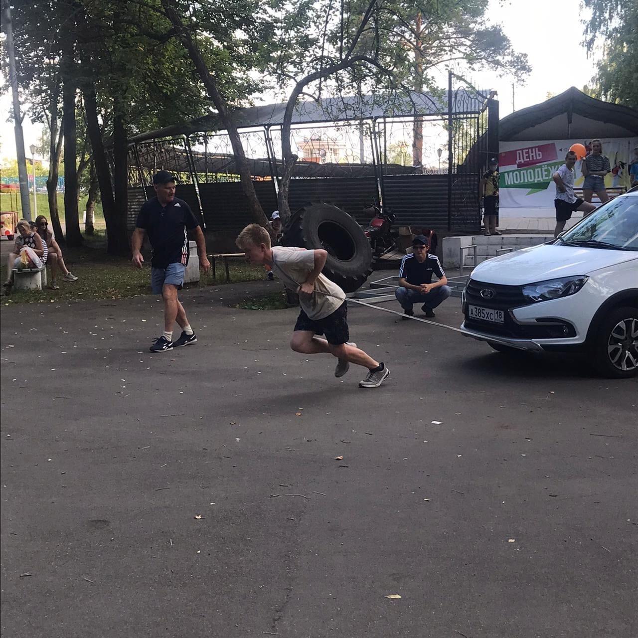 В минувшие выходные в Можге прошли соревнования