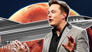 Elon Musk's Multibillion Dollar Mars Rocket, Explained
