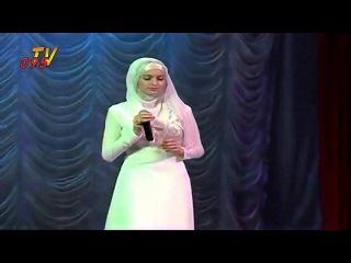 Прекрасная певица Камета Садулаева