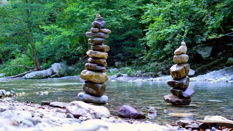 Живописная Горная Река со Звуками Природы ~ Шум и журчание воды для релаксации и сна