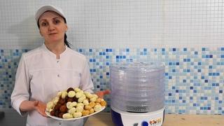 Как сделать Сыр Курт ( Курут ) / Йогурт в сушилке Великие реки волга 8