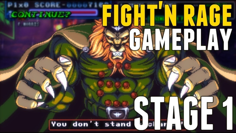 FightN Rage PC Gameplay Stage 1 - 1080p 60fps