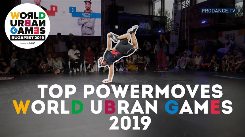 Top Powermoves   WORLD URBAN GAMES 2019