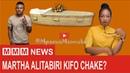 Boss Martha baby mama wa Mbosso WCB na mchekeshaji wa Cheka Tu alitabiri kifo chake?