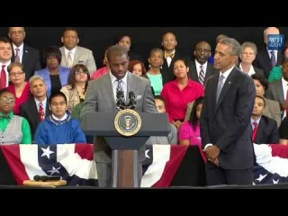 "Chris Paul Introduces President Barack Obama and ""My Brother's Keeper"" Program"