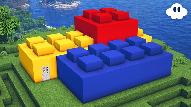 Minecraft How to Build a Lego Brick House
