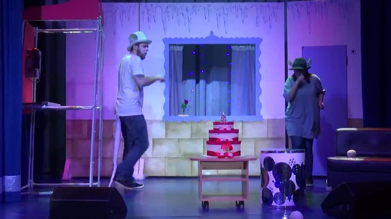 Новый год с котом Леопольдом Театрализованное представление