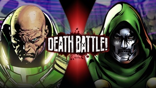 Lex Luthor VS Doctor Doom (DC vs Marvel)   DEATH BATTLE!
