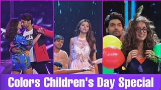 Sanaya Irani , Gurmeet  , Jasmin Bhasin , Tejaswi , Harsh Bharti At Colors Children's Day Special