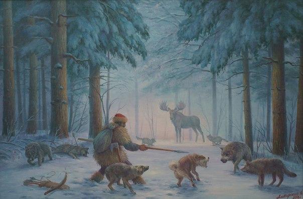 Спаситель Волки неожиданно появились из темноты леса и сразу окружили лося. Заметив охотника, три хищника двинулись в его сторону. Он вторые сутки шел по следу рогатого гиганта. Рядом бежали два