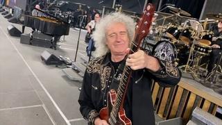 Queen + Adam Lambert  soundcheck Nagoya Dome clip 30 Jan 2020