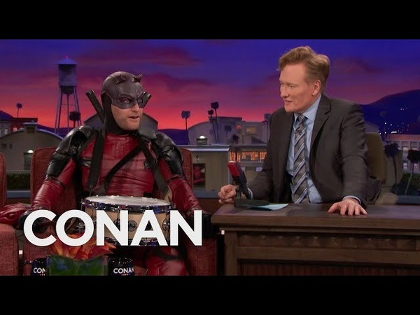 """Adam Pallys Interview As Snaredevil"""" Goes Completely Off The Rails - CONAN on TBS"""