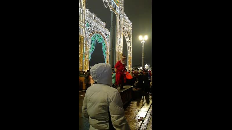 Танцы с Дедом Морозом 04 01 20