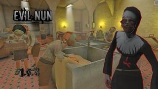 Спас всех детей из школы прохождение игры Evil Nun!