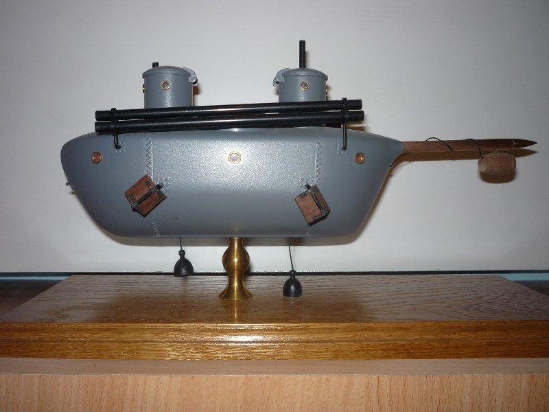 Подводная лодка К.А. Шильдера. Макет. Из собрания Музея истории подводных сил России им. А.И. Маринеско.