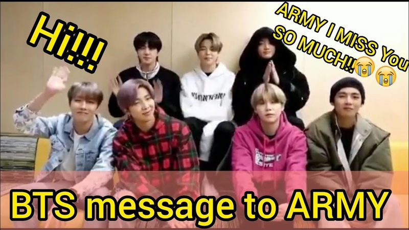 [ENGSUB]BTS message to ARMY in quarantine Homefest