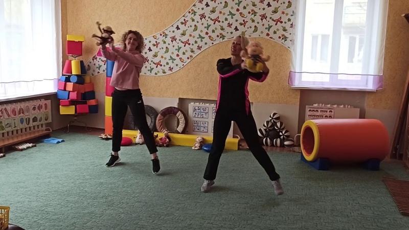 Заняття 4 фітнес Улюблені іграшки CROSSFIT фізкультура для серця