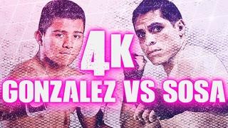 Roman Gonzalez vs Edgar Sosa (Highlights) 4K