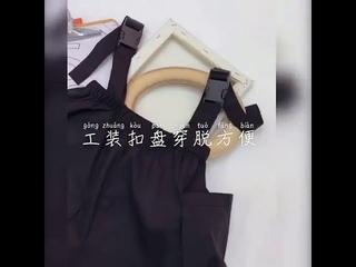 Подтяжки для девочек 2020 лето новая корейская версия средние и большие детские свободные штаны