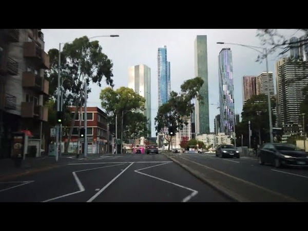 Driving in Melbourne city during Coronavirus 6 (April 3rd)