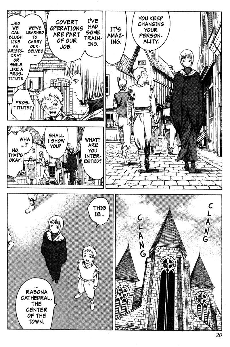 Claymore, Chapter 5, image #19