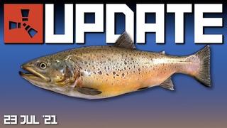 Fishing! Latest underwater news   Rust Update 23rd July 2021