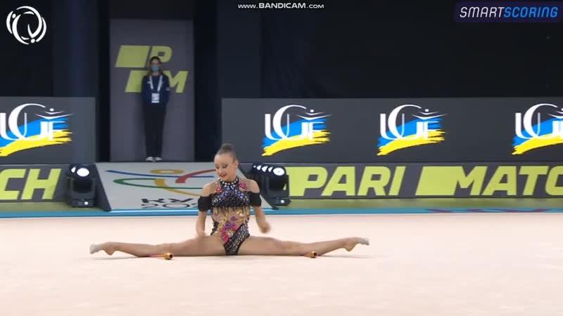 Lily RAMONATXO FRA Clubs AA European Championships Kyiv 2020